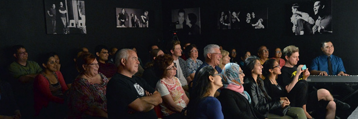 Sold-out audience at Made Up Theatre