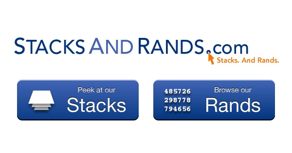 StacksAndRands.com: Stacks. And Rands. Peek at our Stacks, Browse our Rands.